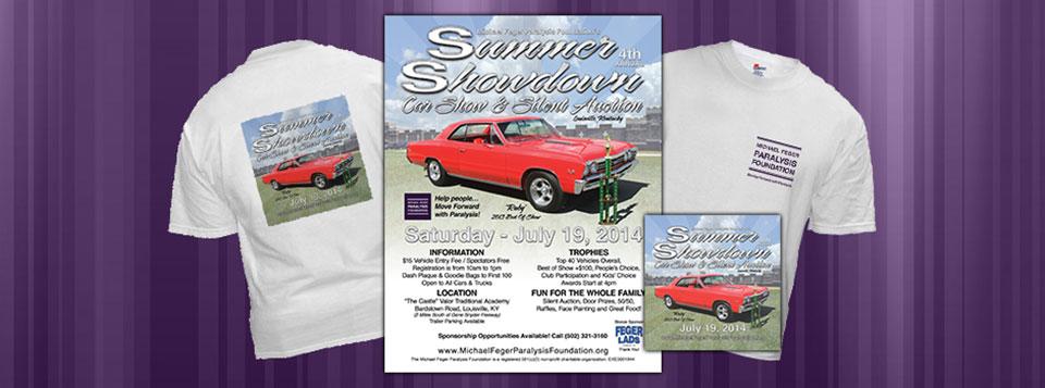 2014 Summer Showdown Car Show Graphics